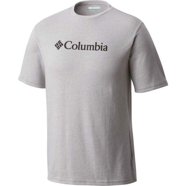 Columbia CSC BASIC LOGO SHORT SLEEVE SHIRT černá XL - Pánské tričko