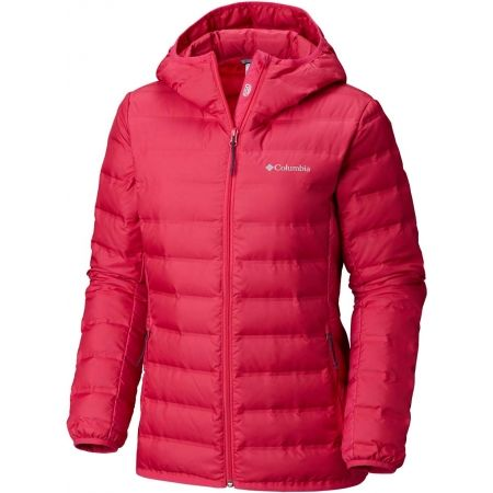 Dámska páperová bunda - Columbia LAKE 22 HOODED JACKET - 1