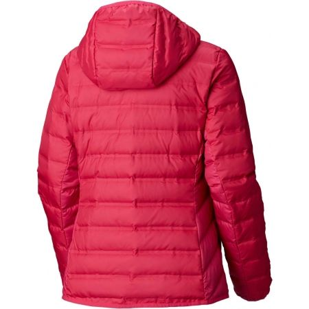 Dámska páperová bunda - Columbia LAKE 22 HOODED JACKET - 2