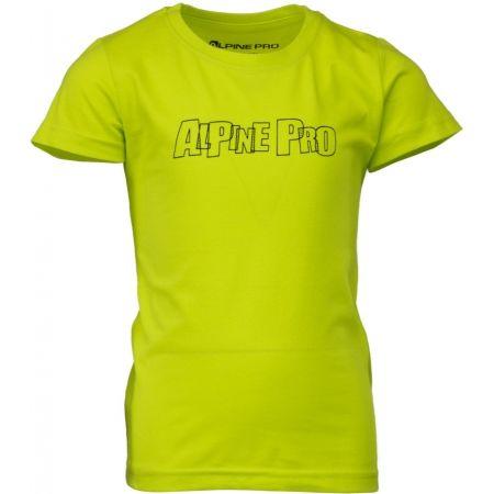 Tricou copii - ALPINE PRO VONO - 1