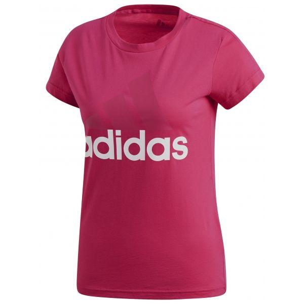adidas ESS LI SLI TEE růžová XS - Dámské triko