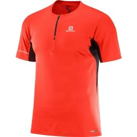 Salomon AGILE HZ SS TEE M - Men's T-shirt