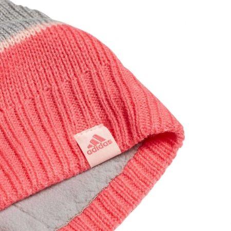 Детска шапка - adidas STRIPY BEANIE - 3