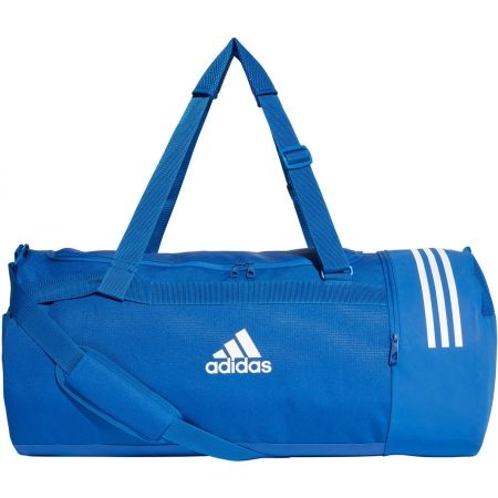 Спортна чанта - adidas CONVERTIBLE 3-STRIPES DUFFEL LARGE - 1