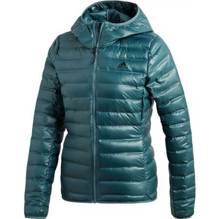 Dámska bunda - adidas VARILITE DOWN HOODED JACKET - 1 27d33546176