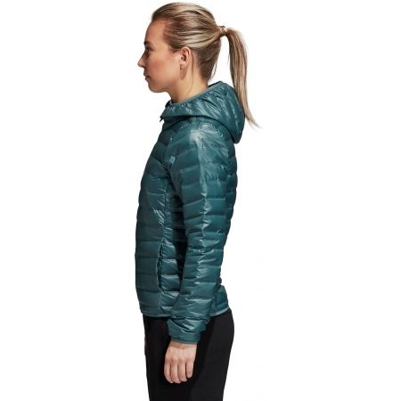 Dámska bunda - adidas VARILITE DOWN HOODED JACKET - 3 5cdb3bbf4fd