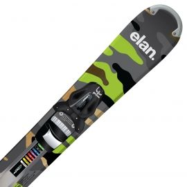 Elan FREELINE TRACK + ESP10 - Allmountain downhill skis