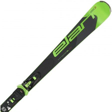 Závodní sjezdové lyže - Elan SL FUSION + ELX11 - 1