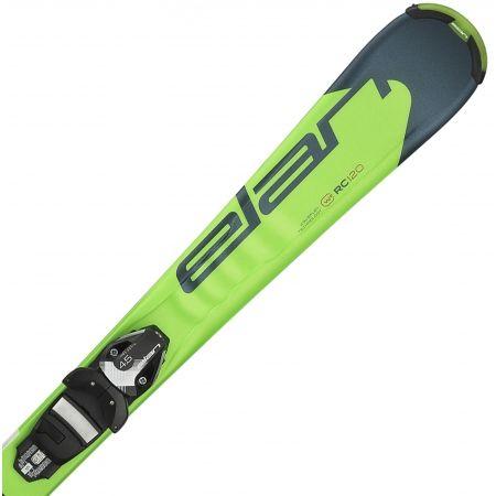 Juniorské sjezdové lyže - Elan RC RACE QS + EL 7.5 - 1