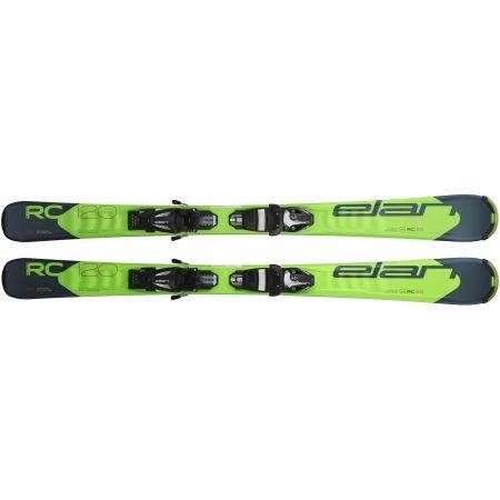 Juniorské sjezdové lyže - Elan RC RACE QS + EL 7.5 - 2