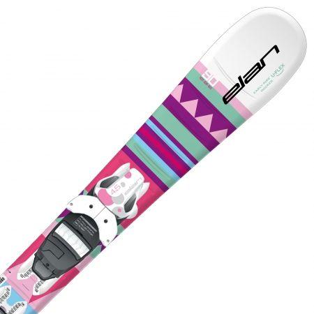 Dívčí sjezdové lyže - Elan SKY QS + EL 7.5 - 3
