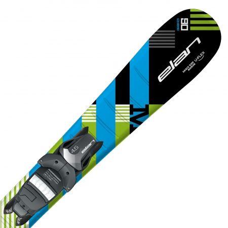 Chlapecké sjezdové lyže - Elan MAXX BLK BLUE QS + EL 4.5 - 1