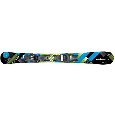 Chlapecké sjezdové lyže - Elan MAXX BLK BLUE QS + EL 4.5 - 2