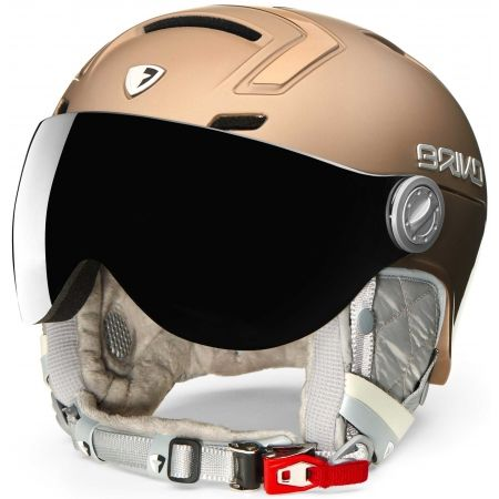 Briko AMBRA VISOR PHOTO - Damen Skihelm