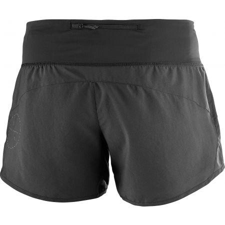 Dámské běžecké šortky - Salomon ELEVATE 2IN1 SHORT - 3