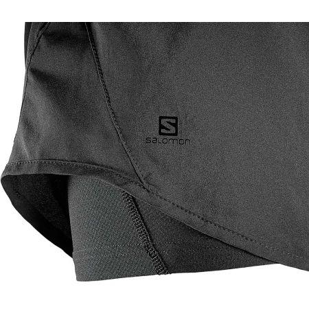 Dámské běžecké šortky - Salomon ELEVATE 2IN1 SHORT - 4