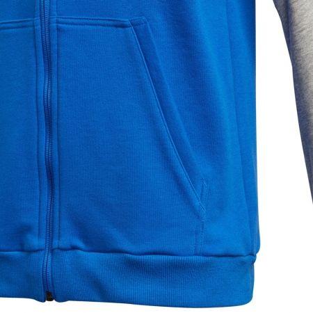 Суитшърт за момчета - adidas COMMERCIAL PACK FULL ZIP HOODIE - 3