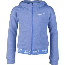 Nike DRI-FIT HOODIE FZ CORE STUDIO - Dívčí mikina
