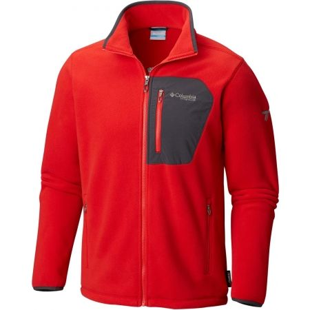 Hanorac fleece bărbați - Columbia TITAN PASS 2.0 FLEECE JACKET - 1