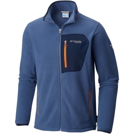 Hanorac fleece bărbați - Columbia TITAN PASS 2.0 FLEECE JACKET - 5