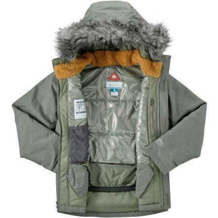 Dětská zimní bunda - Columbia SNOWFIELD JACKET - 4