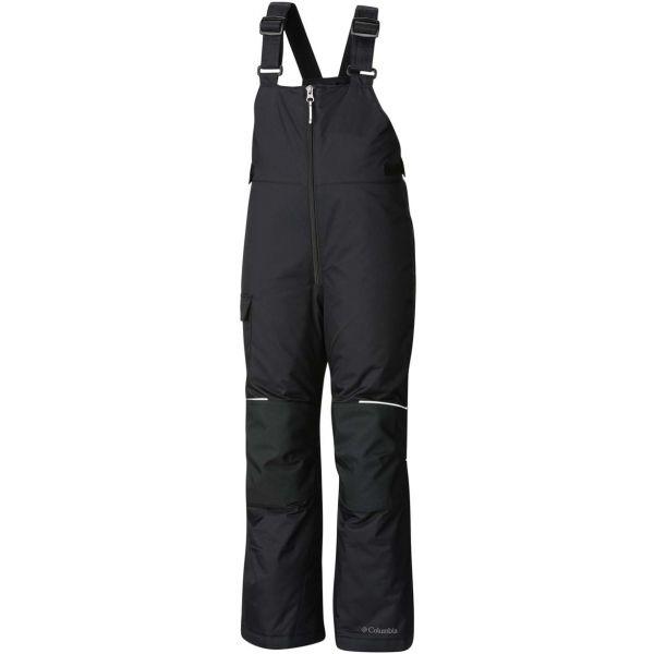 Columbia ADVENTURE RIDE BIB čierna XS - Detské lyžiarske nohavice