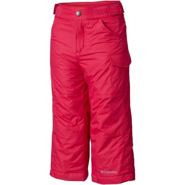 Columbia STARCHASER PEAK II PANT ružová XS - Dievčenské lyžiarske nohavice