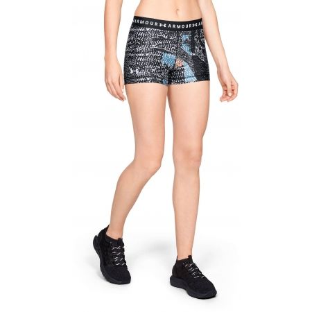 Women's compression shorts - Under Armour HG ARMOUR PRINTED SHORTY - 4