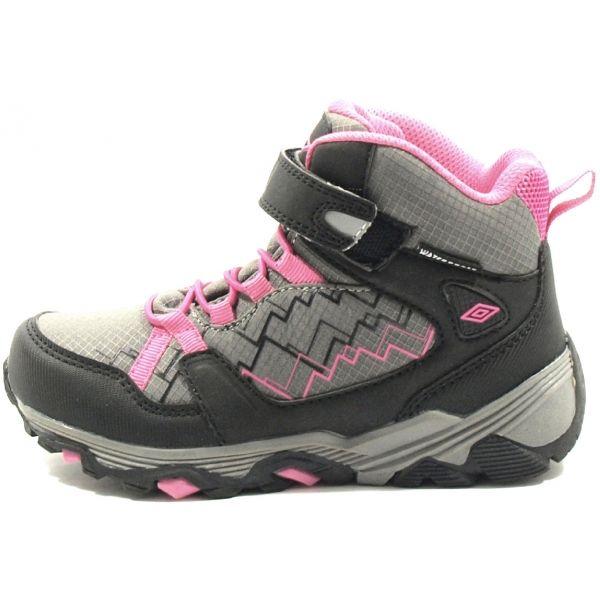 Umbro AIDEN šedá 29 - Dětská treková obuv