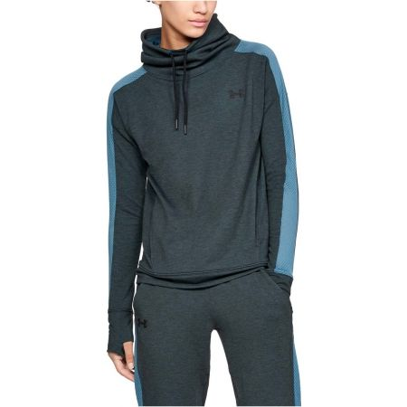 Női sportfelső - Under Armour FEATHERWEIGHT FLEECE FUNNEL - 3
