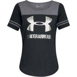 Under Armour SPORT STYLE BESEBALL T - Women's T-shirt