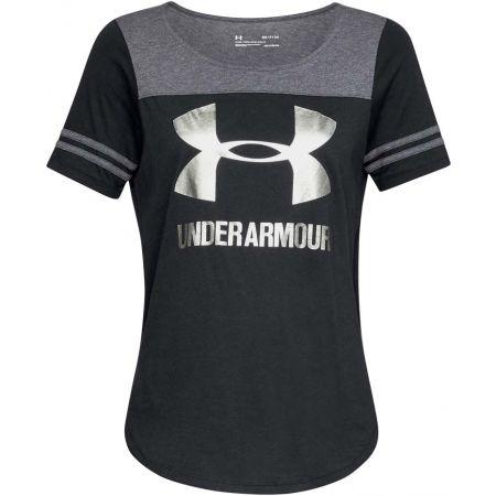 Dámske tričko - Under Armour SPORT STYLE BESEBALL T - 1