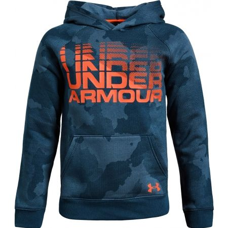 Detská mikna - Under Armour RIVAL WORDMARK HODDY - 1
