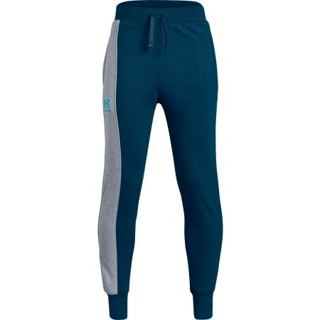 Pantaloni de trening copii - Under Armour RIVAL BLOCKED JOGGER - 1