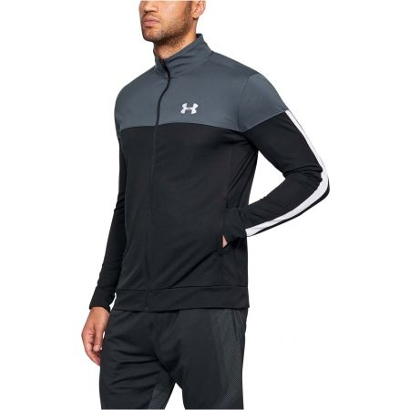 Мъжки лек суитшърт - Under Armour SPORTSTYLE PIQUE JACKET - 3