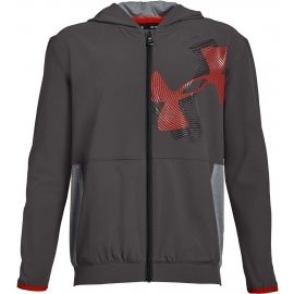Under Armour WOVEN WARM UP JACKET - Detská  mikina