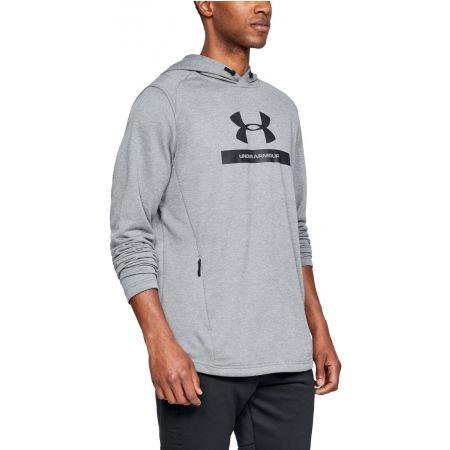 Men's sweatshirt - Under Armour MK1 TERRY GRAPHIC HOODIE - 3