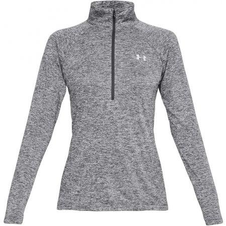 Functional women's sweatshirt - Under Armour TECH 1/2 ZIP - TWIST - 1
