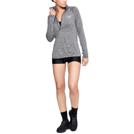 Functional women's sweatshirt - Under Armour TECH 1/2 ZIP - TWIST - 5