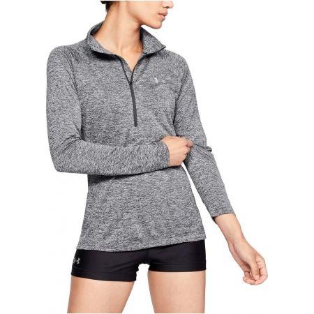Functional women's sweatshirt - Under Armour TECH 1/2 ZIP - TWIST - 3