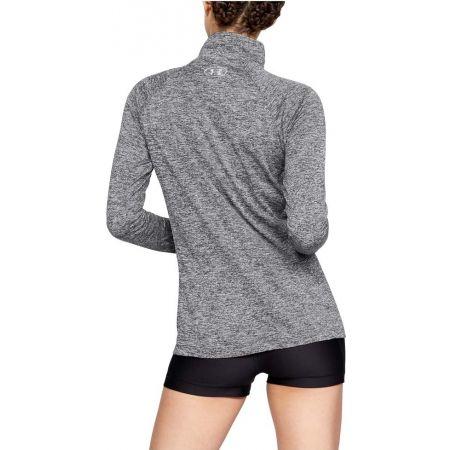 Functional women's sweatshirt - Under Armour TECH 1/2 ZIP - TWIST - 4