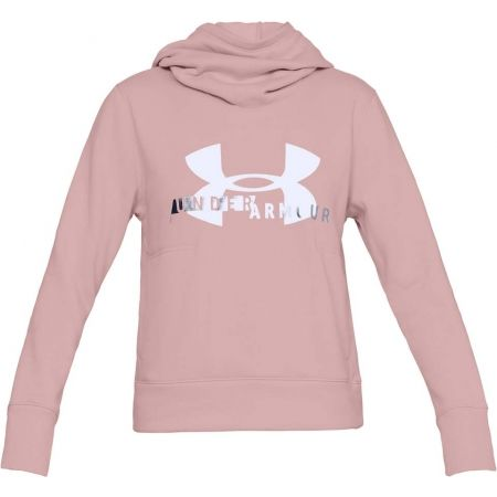Dámska mikina - Under Armour COTTON FLEECE SPORTSTYLE LOGO HOODIE - 1