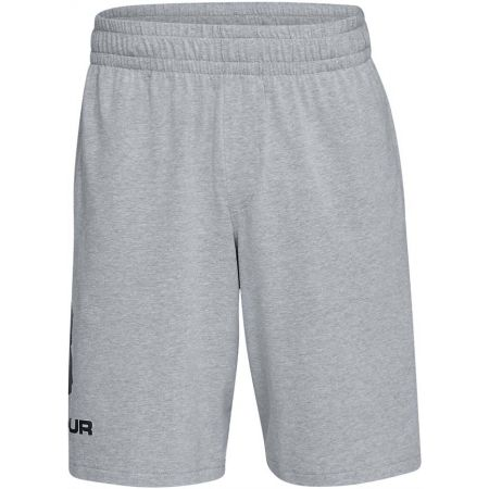 Pánské kraťasy - Under Armour SPORTSTYLE COTTON GRAPHIC SHORT - 1