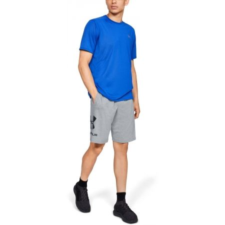 Pánske šortky - Under Armour SPORTSTYLE COTTON GRAPHIC SHORT - 5
