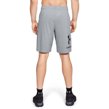 Pánské kraťasy - Under Armour SPORTSTYLE COTTON GRAPHIC SHORT - 4