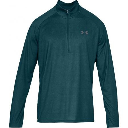 Pánské triko - Under Armour TECH 1 2 ZIP - 1 e85379e91fa
