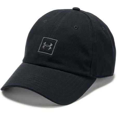 Men's baseball cap - Under Armour MEN'S WASHED COTTON CAP - 1