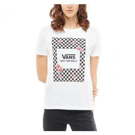 Dámské tričko - Vans WM BOXED ROSE CHECKS b510ac95ba8