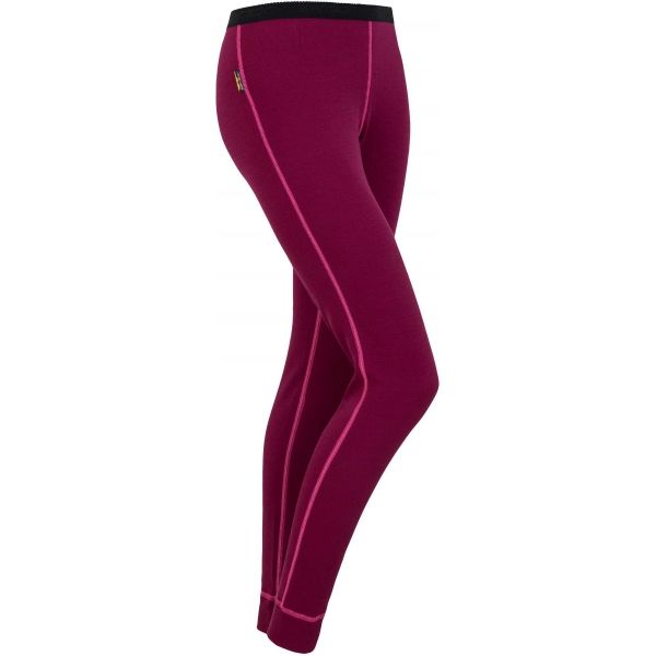 Sensor WOOL W červená M - Dámské spodní kalhoty