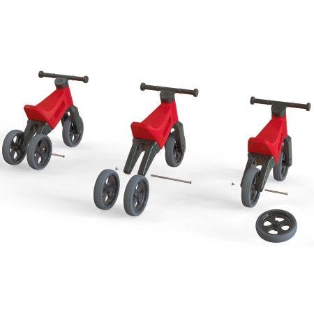 Bicicletă fără pedale copii - FUNNY WHEELS ODRAZEDLO 18M + SPORT 2V1 - 9